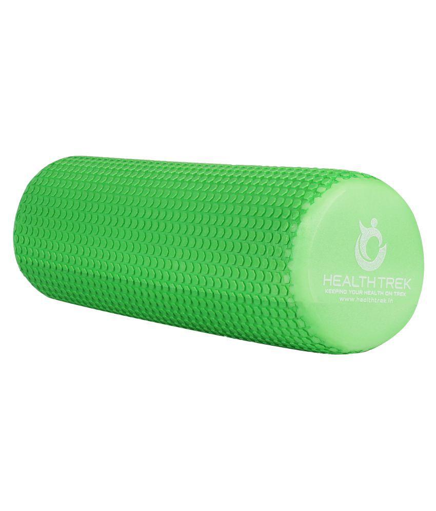 Healthtrek Green Massage Foam Roller-60cm