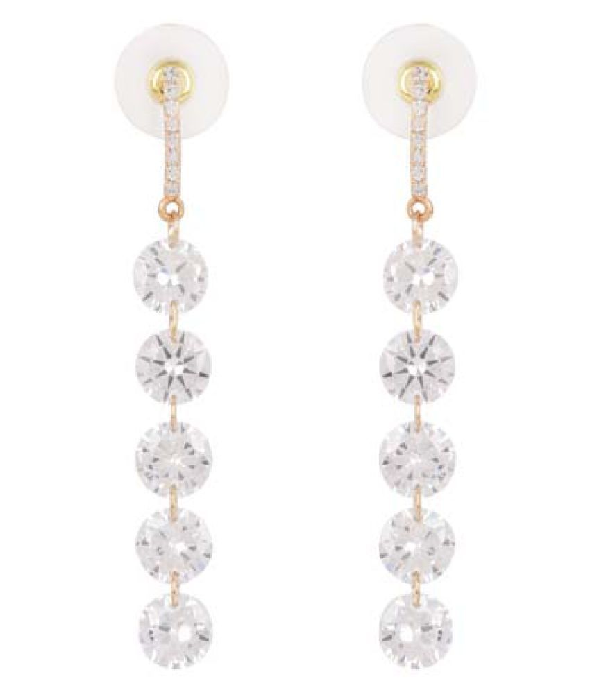 Jaishree Jewels Antique Style Lady Earings with Crystal Beads for Women and Girls