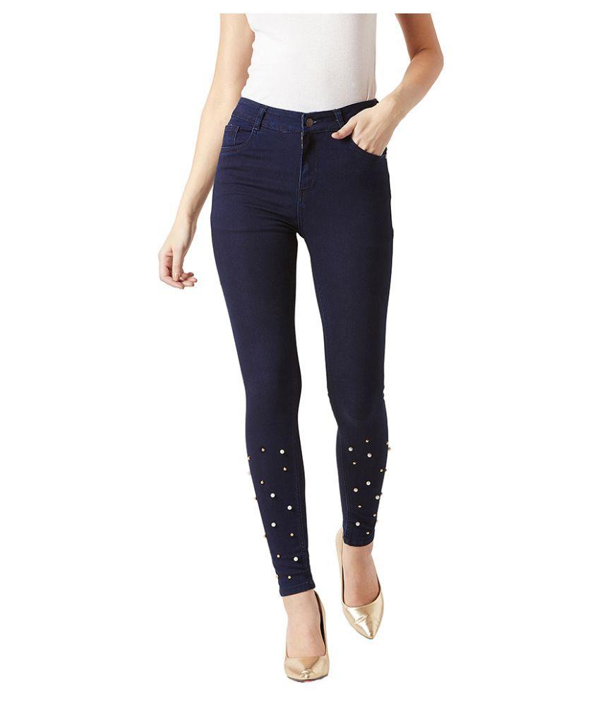 Dolce Crudo Denim Jeans - Navy