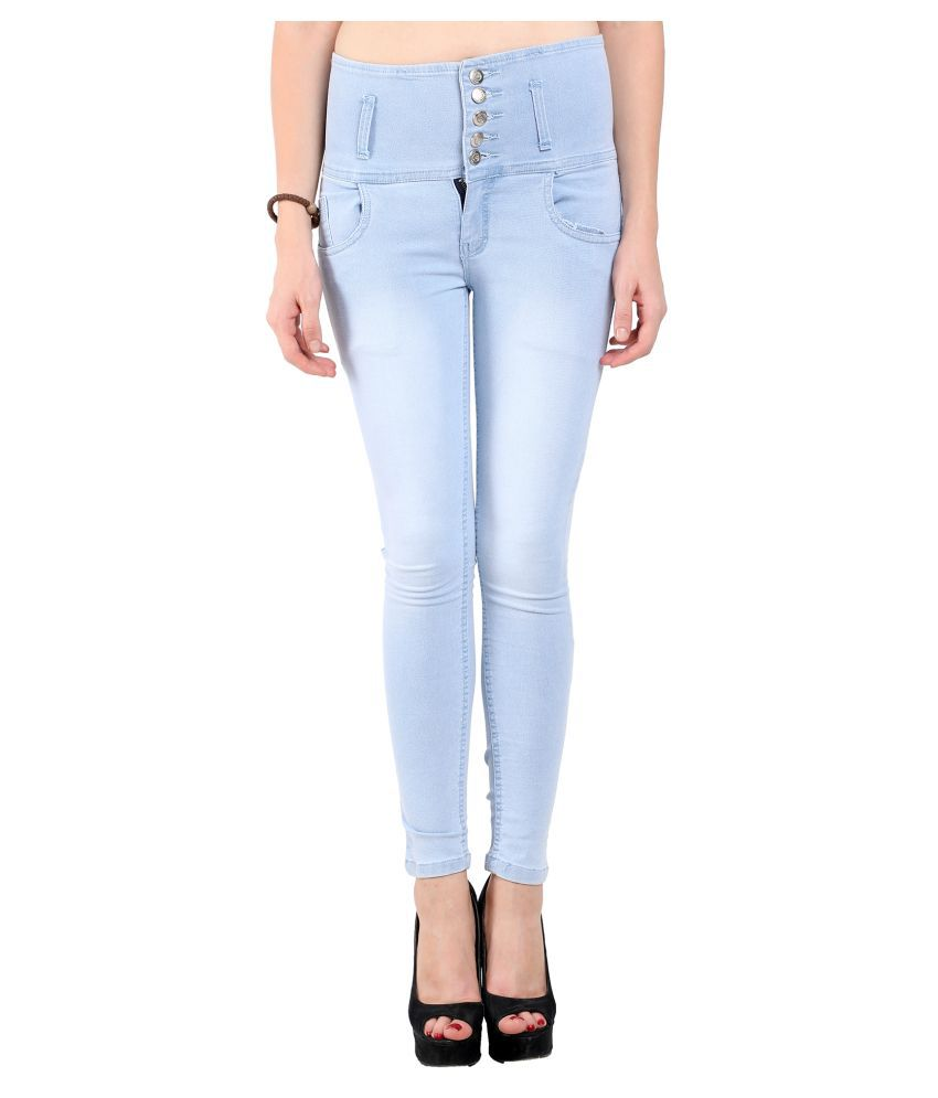 Ratawood Denim Lycra Jeans - Blue