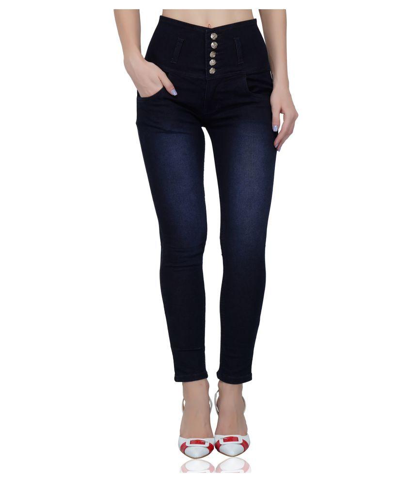 Ratawood Denim Lycra Jeans - Navy