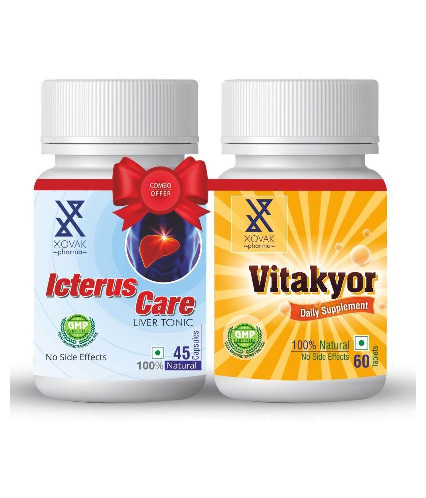 Xovak Pharma 100% Natural & Organic Tab Liver Tonic Tablet 100 gm Pack Of 2