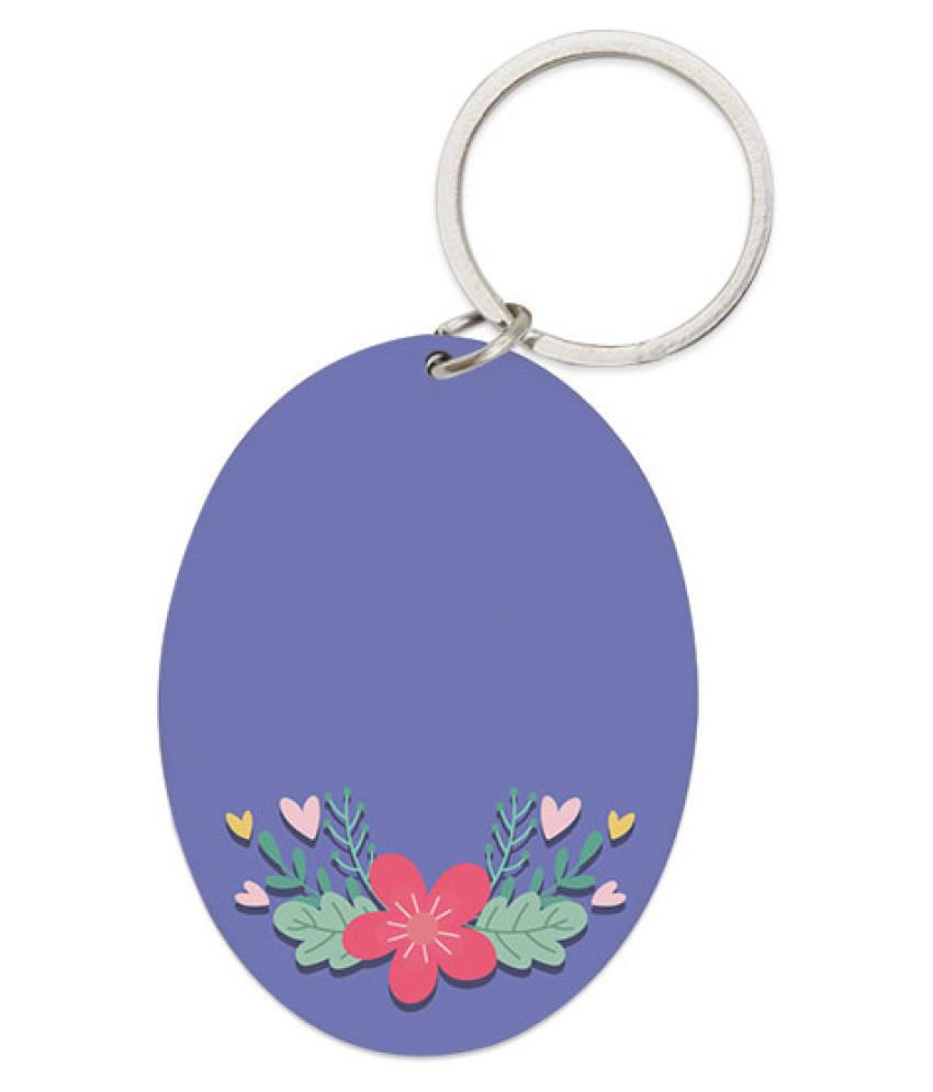 Right Gifting Fibreboard Dual Side Printed Dual Side Printed Oval Shape Pet Tag Cum Pendant For Dogs/Puppy/Cats/Kitten (Pink , 1.5 X 6 Inches)
