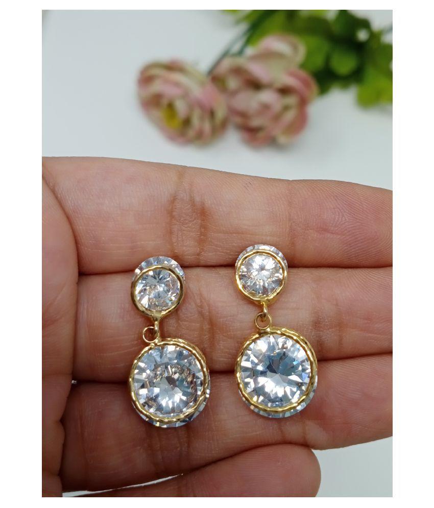 Jaishree Jewels Zircon Earrings for Womens and Girls