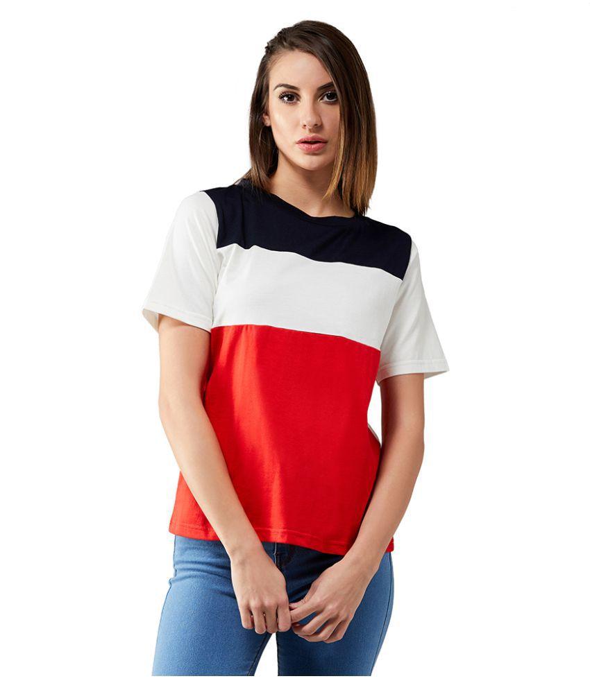 Dolce Crudo Cotton Multi Color T-Shirts