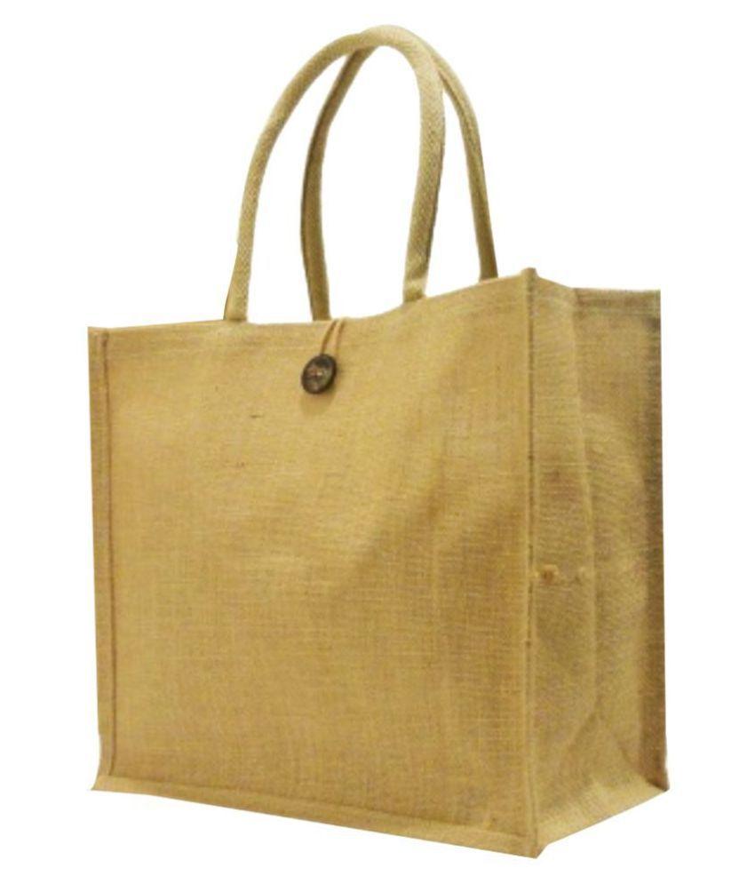 H JUTE BAGS Jute Grocery Bag