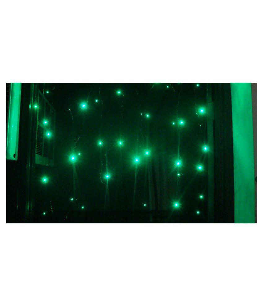 Eticaf Nylon Diwali Lighting Green - Pack of 4