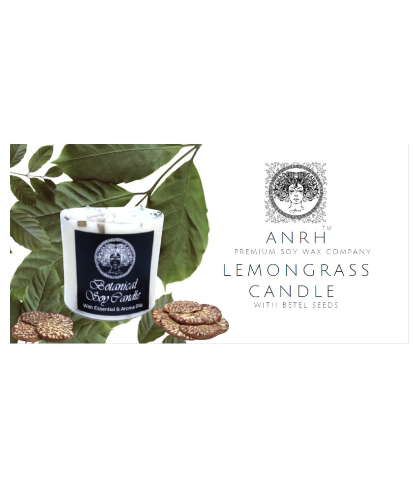 Anrh Group White Pillar Candle - Pack of 1