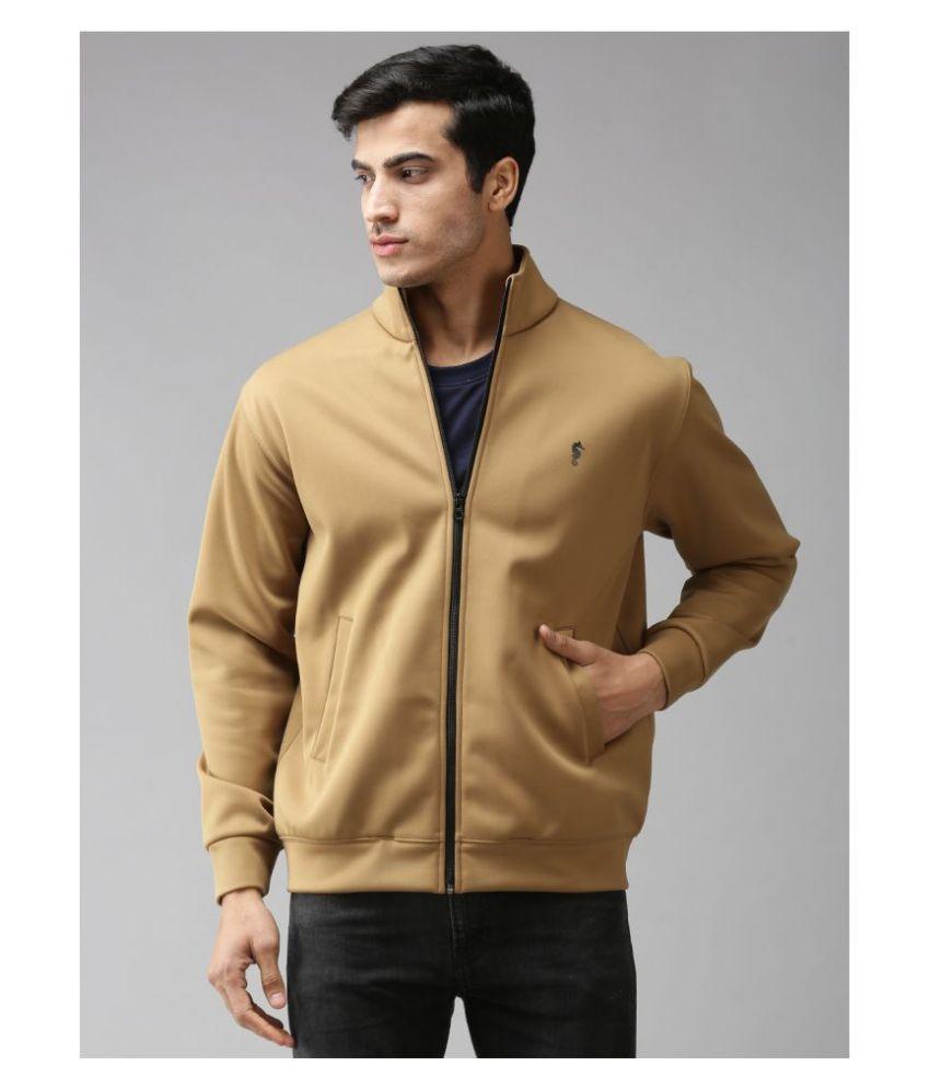 EPPE Beige Polyester Fleece Jacket Single Pack