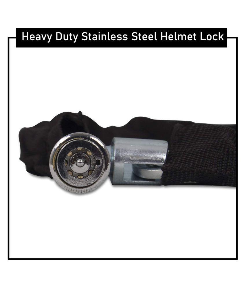 Mygrowthacking Cable Type Helmet Lock - Key Lock