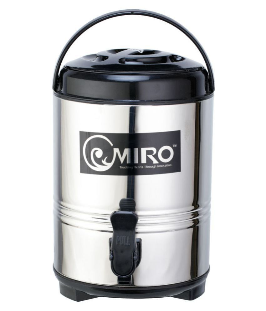 Omiro Thermally Insulated Stainless Steel Jugs 8000 mL