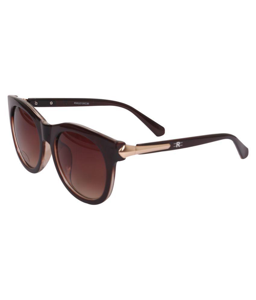 ROZIOR - Brown Cat Eye Sunglasses ( RWU2130C30 )