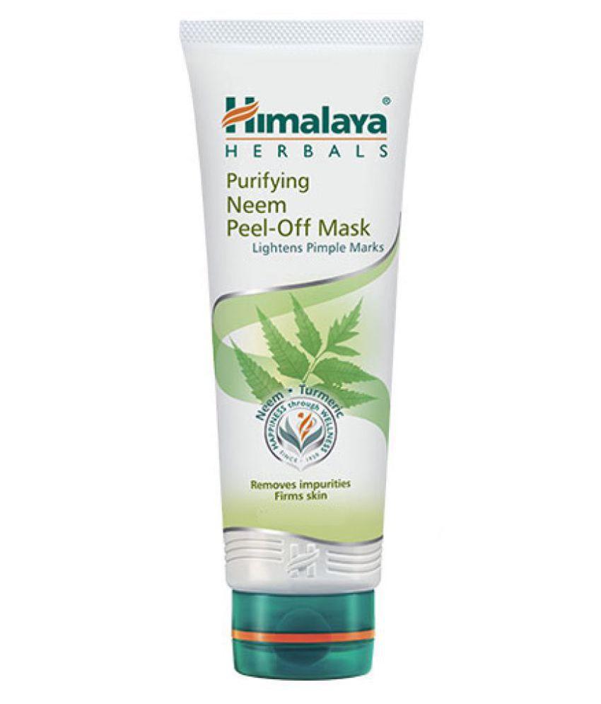 HIMALAYA Purifying Neem Peel off mask 50g Pack of 4
