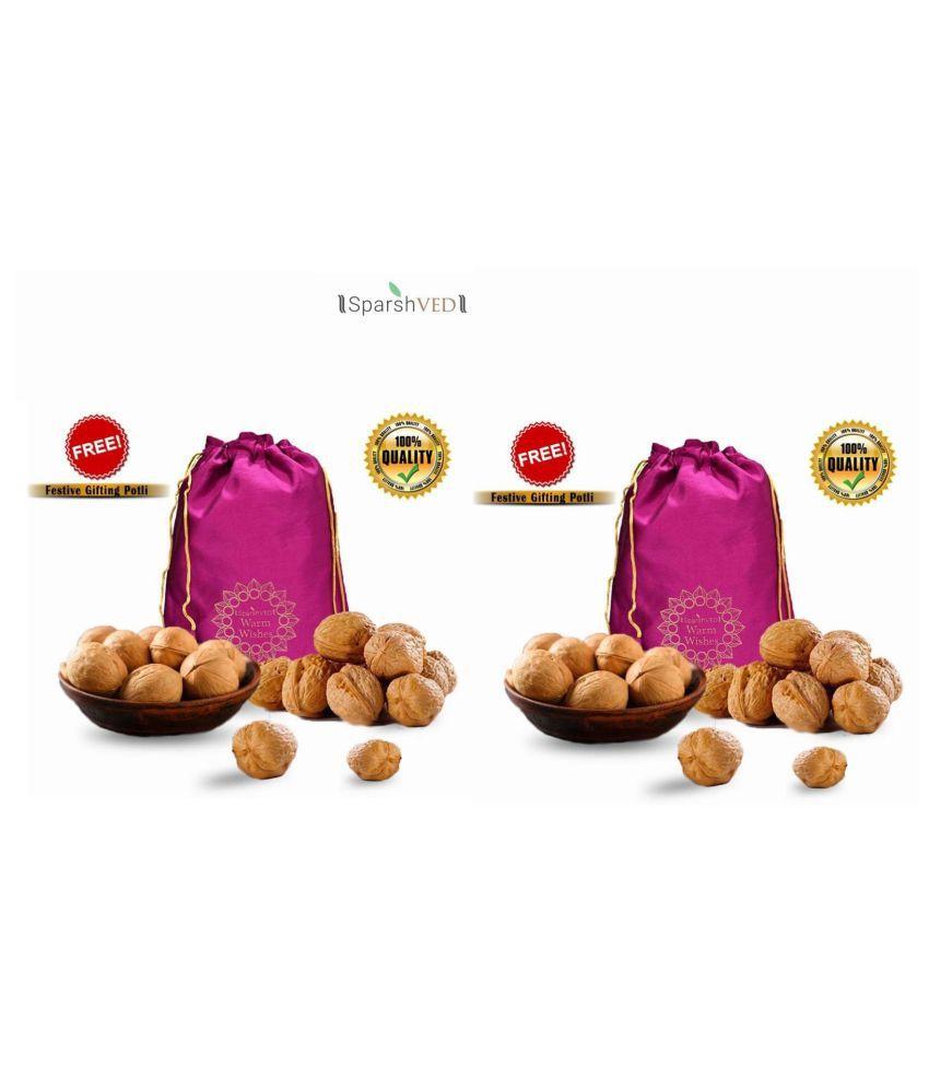 Sparshved Inshell Walnuts(Saboot Akhrot) 900 g