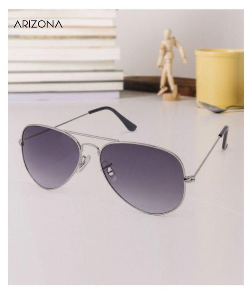Arizona Sunglasses - Purple Plastic (Polycarbonate) lens