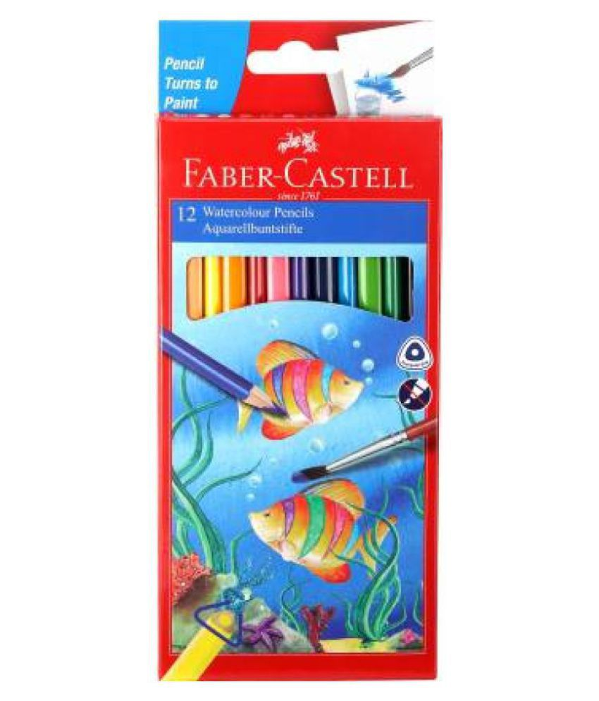 Faber Castell 12 Water Color Pencils