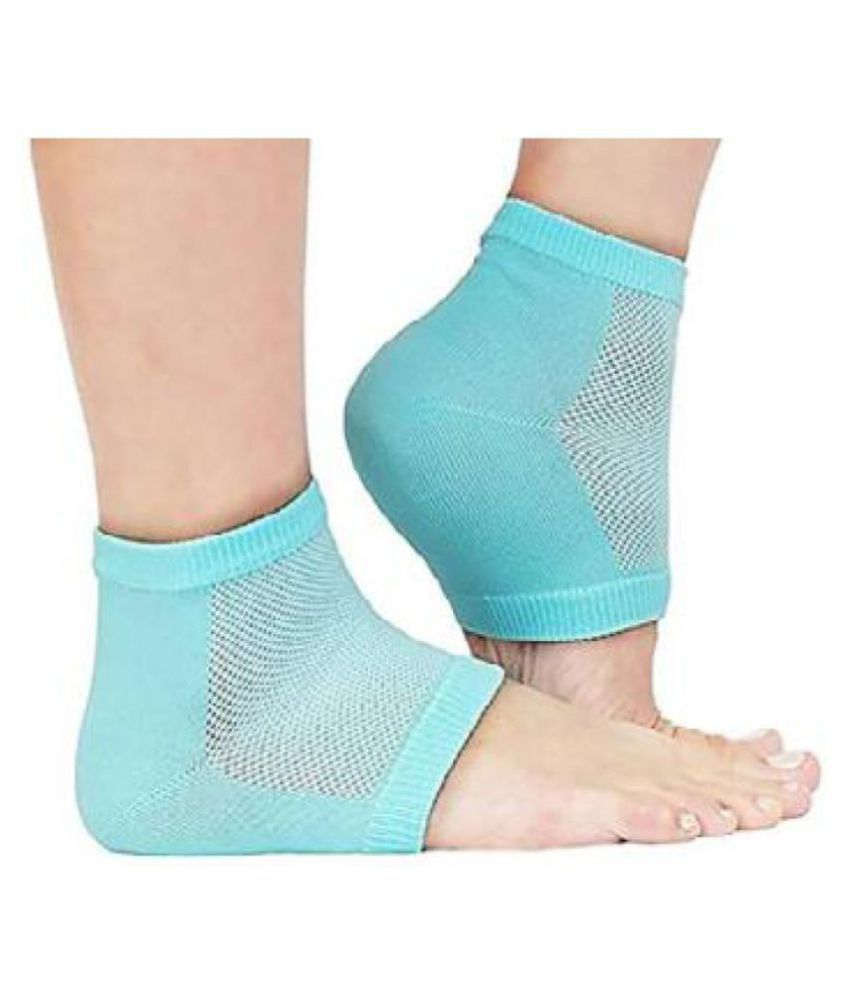 Heel Pain Relief Silicone Gel Heel Socks | Heel Protector Socks For Men And Women