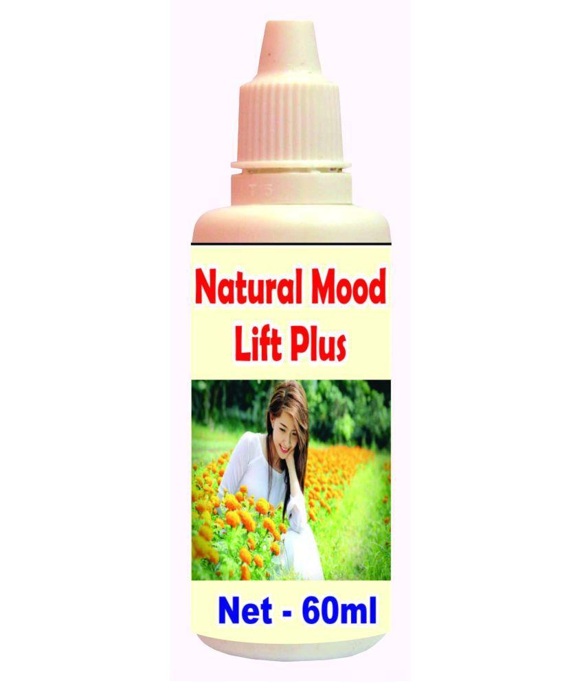 Tonga Herbs Natural Mood Lift Plus Drops - 50 ML (Get The Same 50ml Drops Free) 60 ml Minerals Syrup