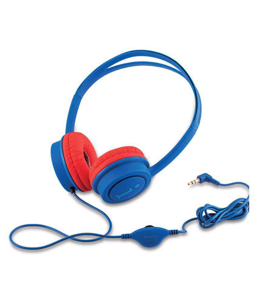 iBall KidsWired DBRD Over Ear Wired Without Mic Headphones/Earphones