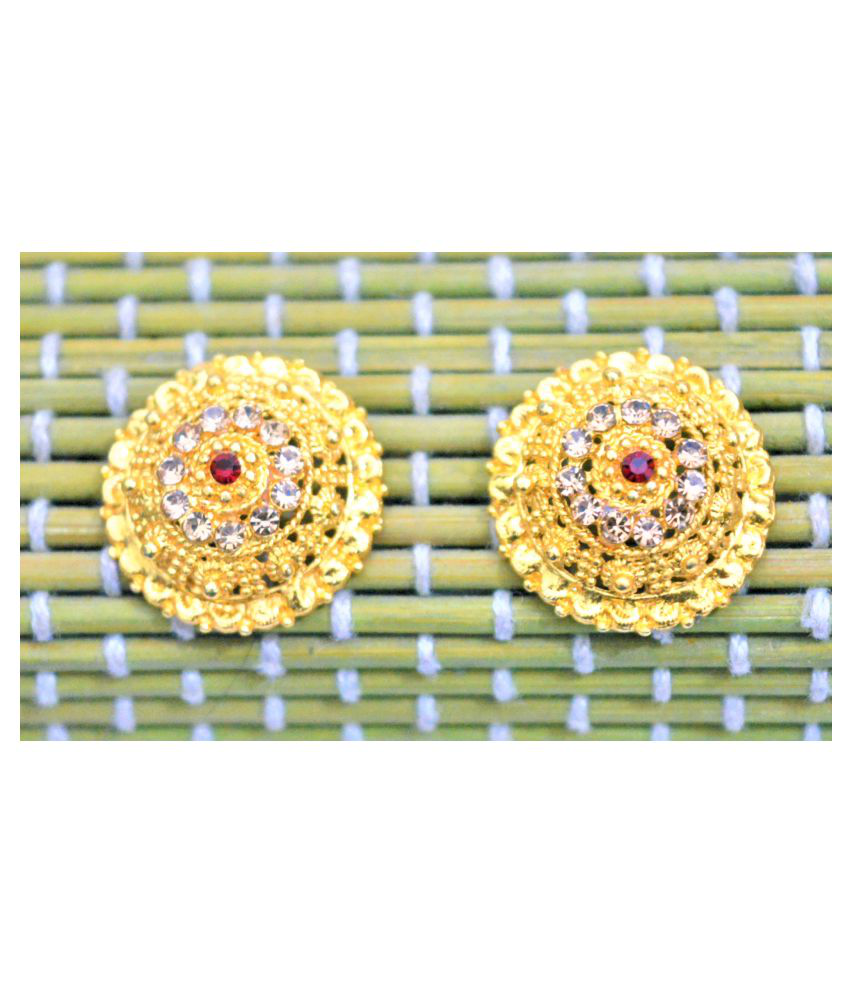 Asterriacreation Traditional South Screw Back Stud Earring Alloy Stud Earring