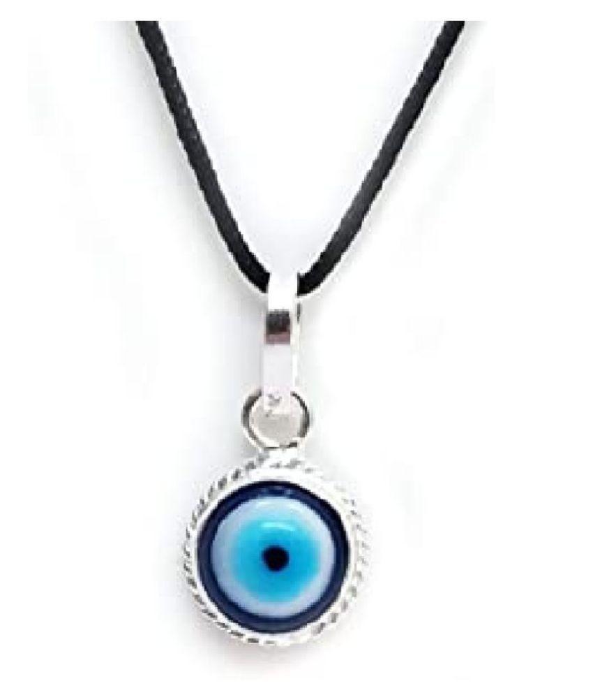 Nazar Suraksha Yantra silver pendant without chain by Ratan Bazaar