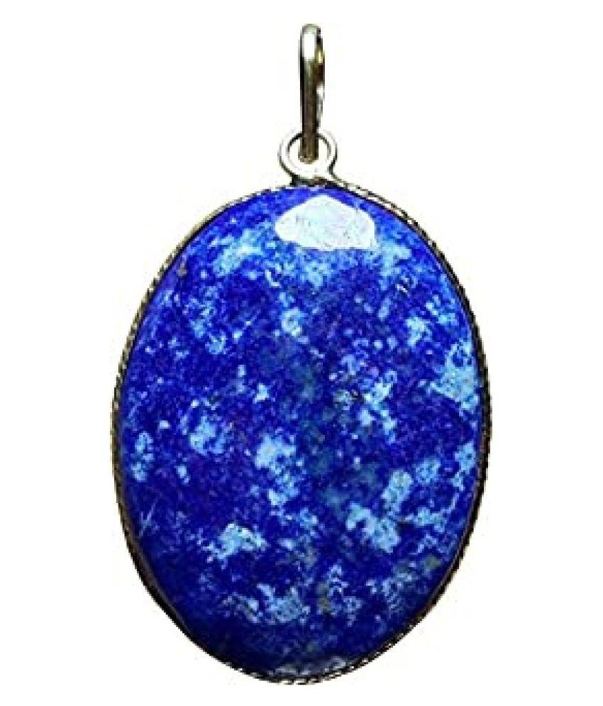 Natural Lab Certified 12.25 carat 12.25 Original lapis lazuli  Pendant for unisex by  Ratan Bazaar\n