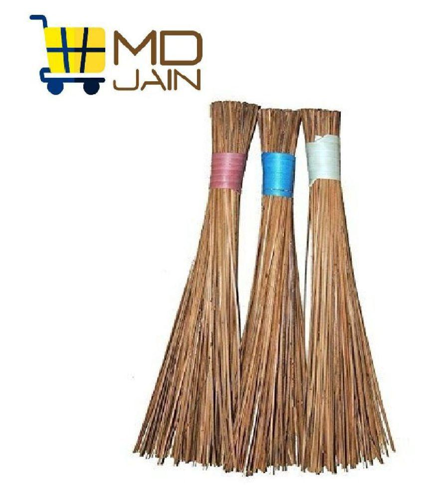 MDJAIN WET BROOM (SET OF 3) Grass Stick Broom