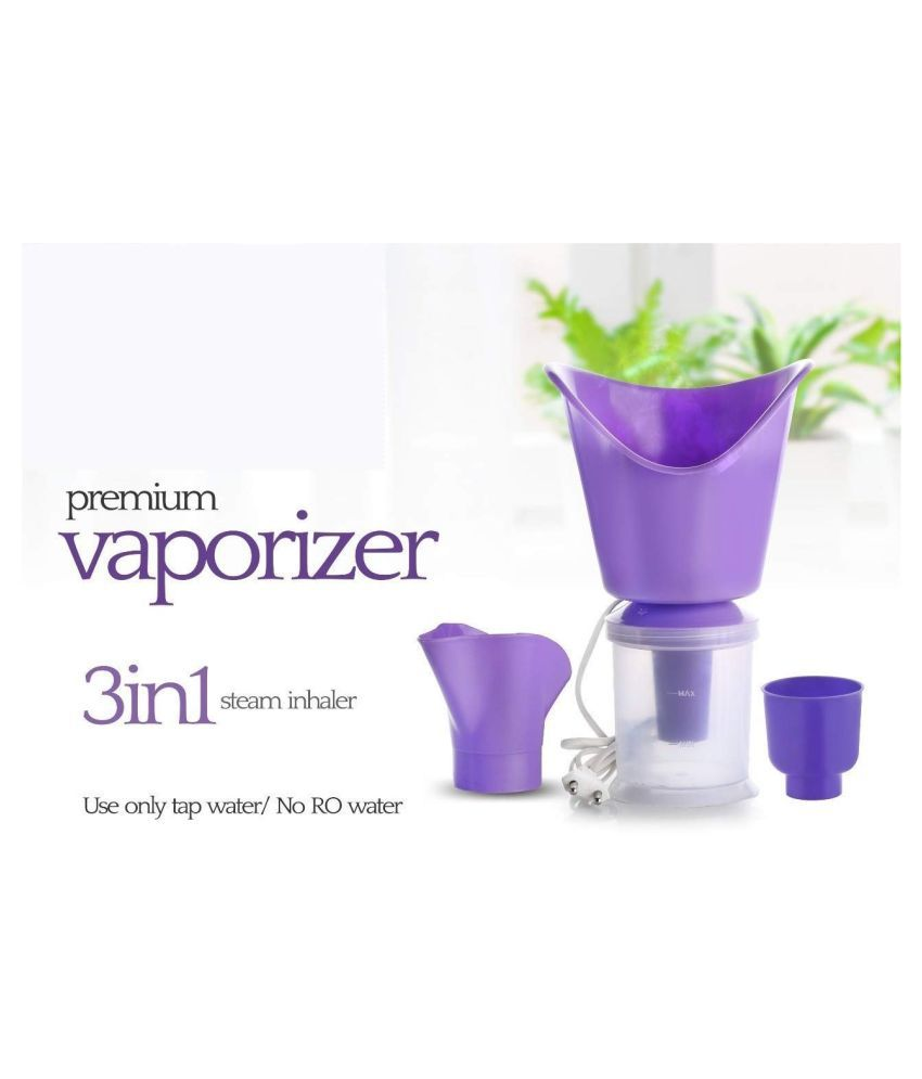 sell4you 3 in 1 Steam Vaporizer Nose Steamer Cough Steamer Foldable