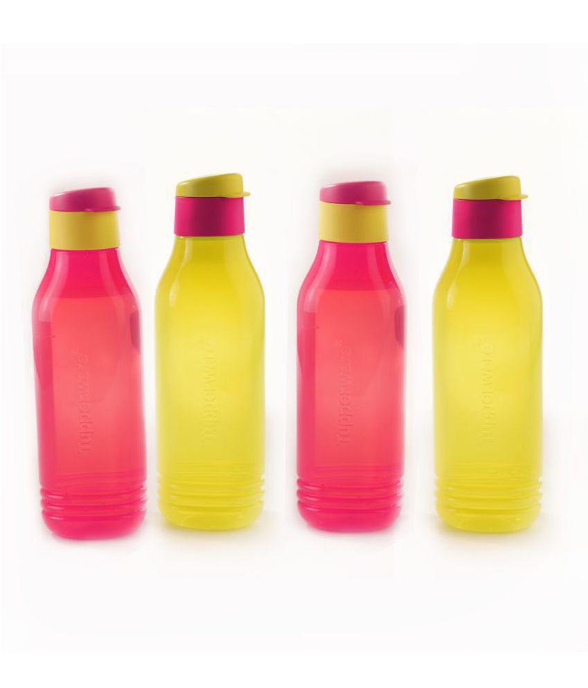 Tupperware Multicolour 750 mL Water Bottle set of 4
