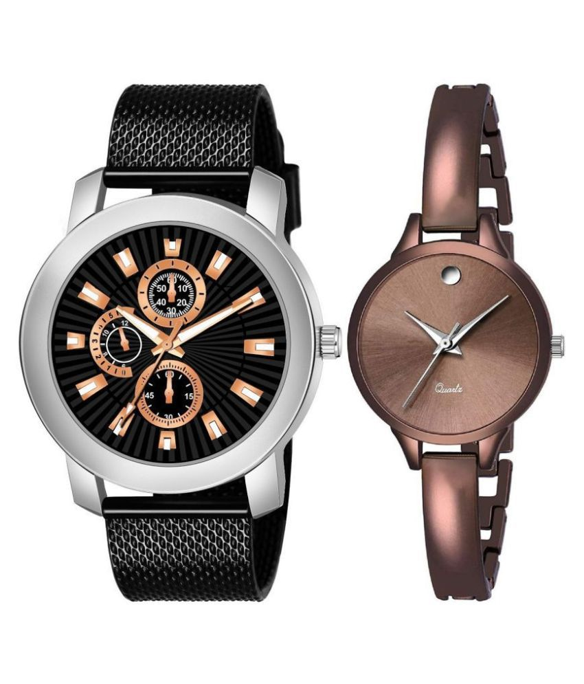 MITLUN  New Stylish Attractive and Professional Analogue Quartz Movement Watches for Gorgeous & Loved Couple