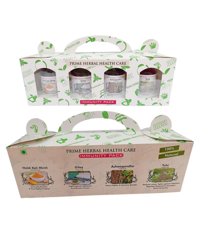 Prime Herbal Health Care IKIT-0014 Capsule 1 gm Pack Of 4