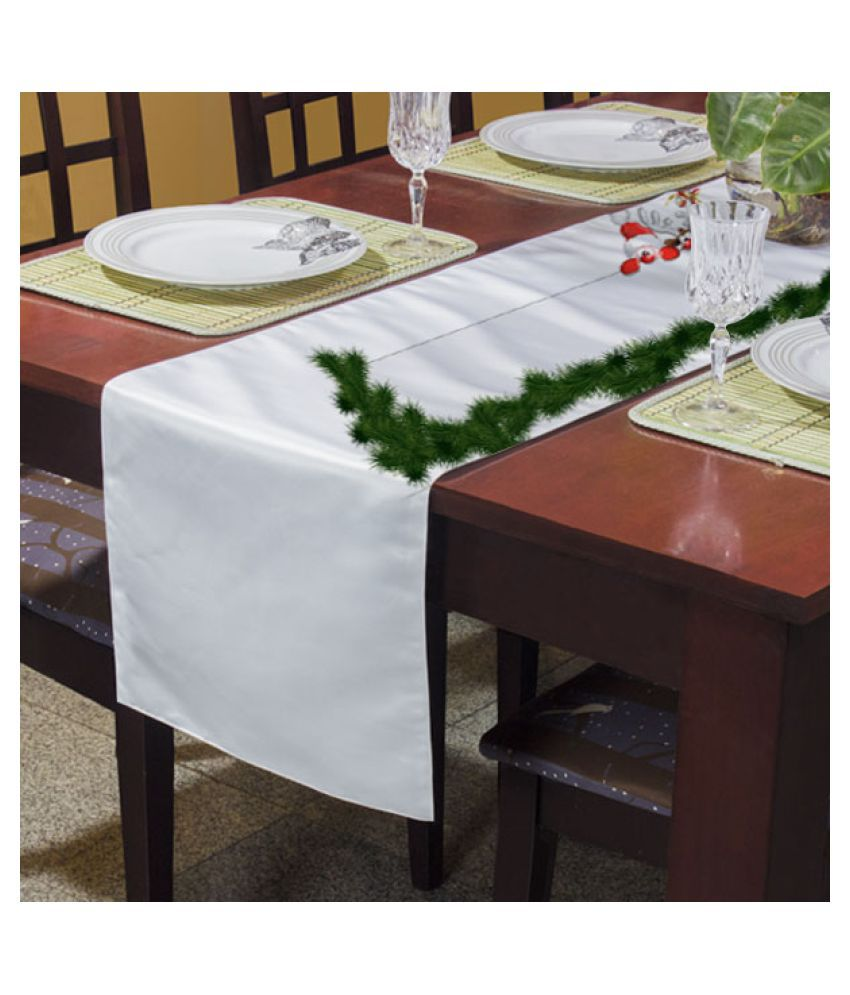 RightGifting 6 Seater Polyester Single Table Runner