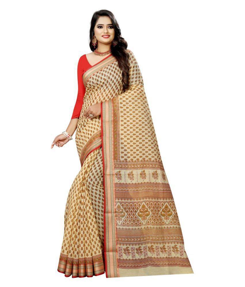 Pretty MMME Brown Gadwal Saree