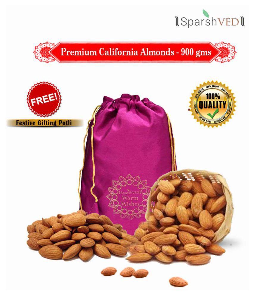 Sparshved Premium California Almond (Badam) 900g