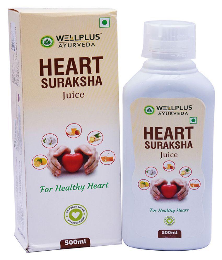 Wellplus Ayurveda Heart Surakhsha Juice Liquid 500 ml Pack Of 1