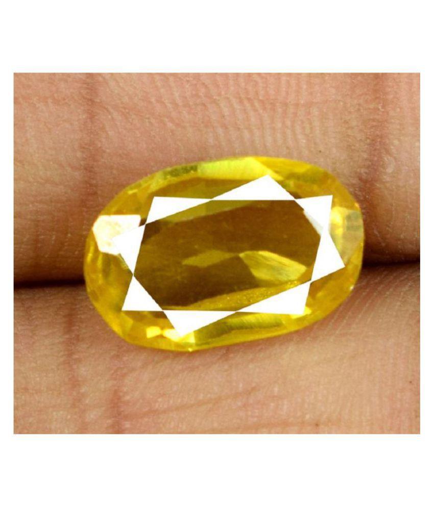Luxury Desire 8 - 8.5 -Ratti IGL&I Yellow Sapphire (Pukhraj)
