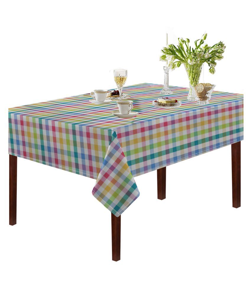 Oasis Home Tex 4 Seater Cotton Single Table Covers