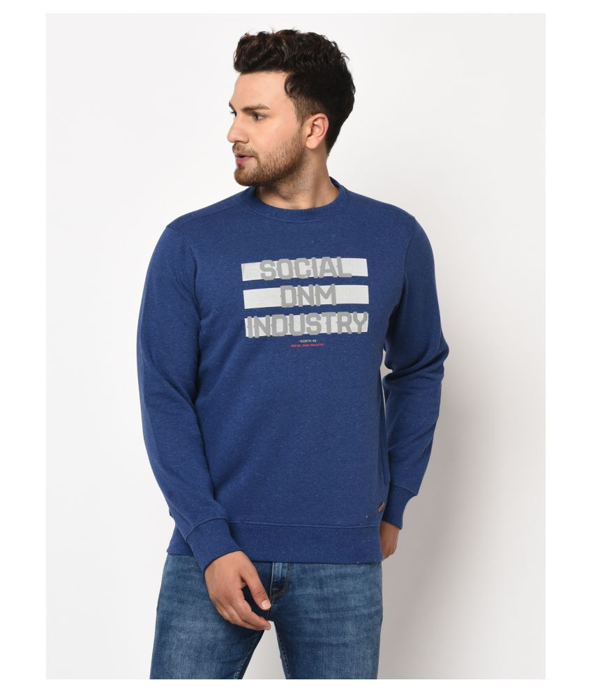 98 Degree North Blue Sweatshirt