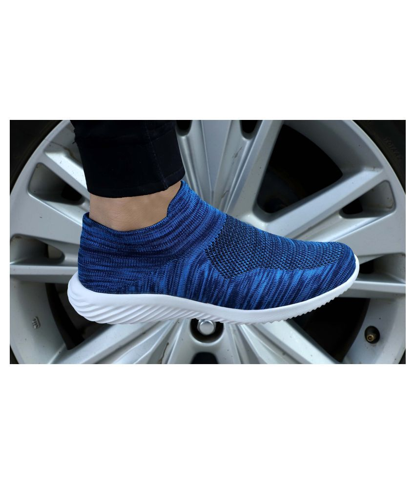 DERBY KICKS Sport Blue Running Shoes