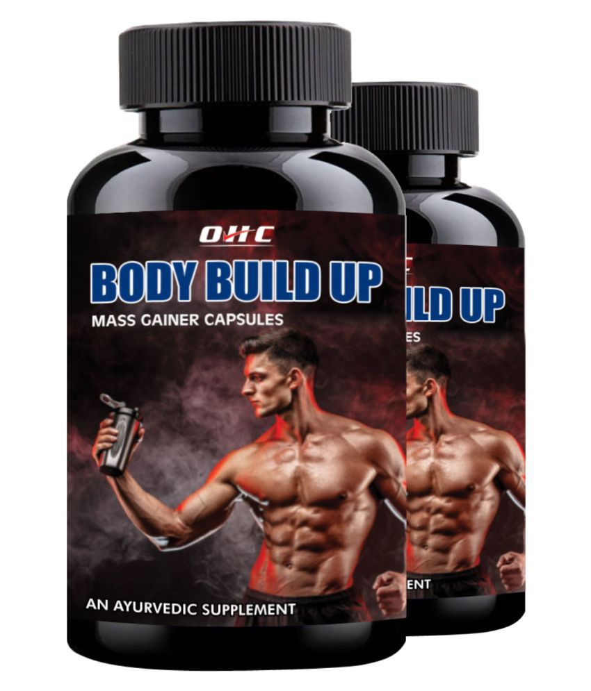 OHC Body Build Up Muscle Gainer Herbal Capsule 60 no.s Pack Of 2