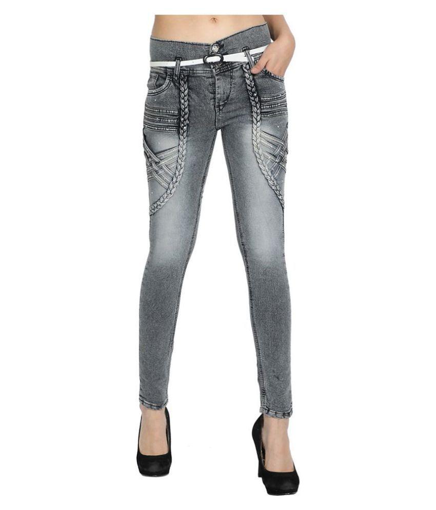 Foxdean Poly Cotton Jeans - Grey