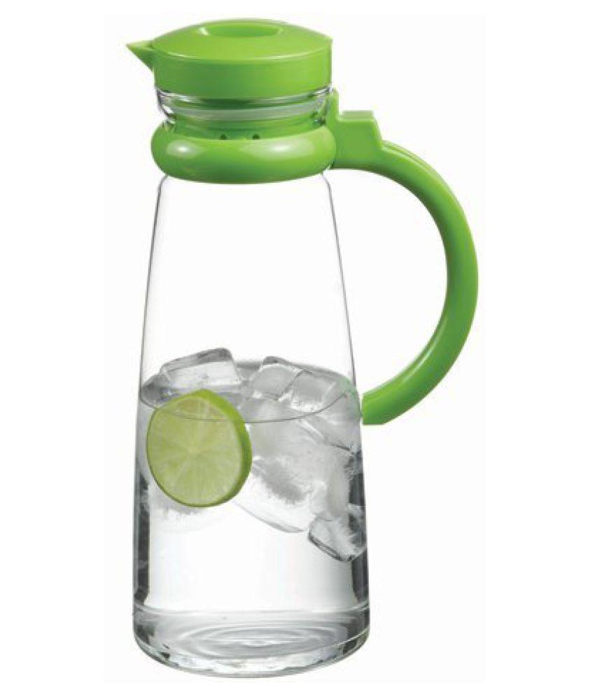 Pasabahce Basic Green Water Glass Jugs 1420 mL