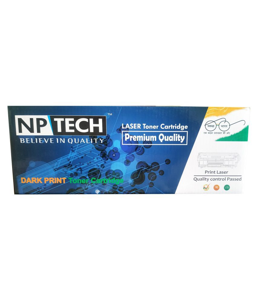 NP TECH HP Laserjet 36A Black Single Toner for Compatible HP Laserjet 1500, 1505, 1522  amp; 1120  CB436A