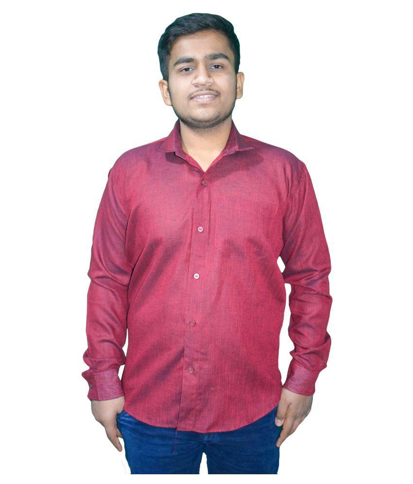 KMP 100 Percent Cotton Red Shirt