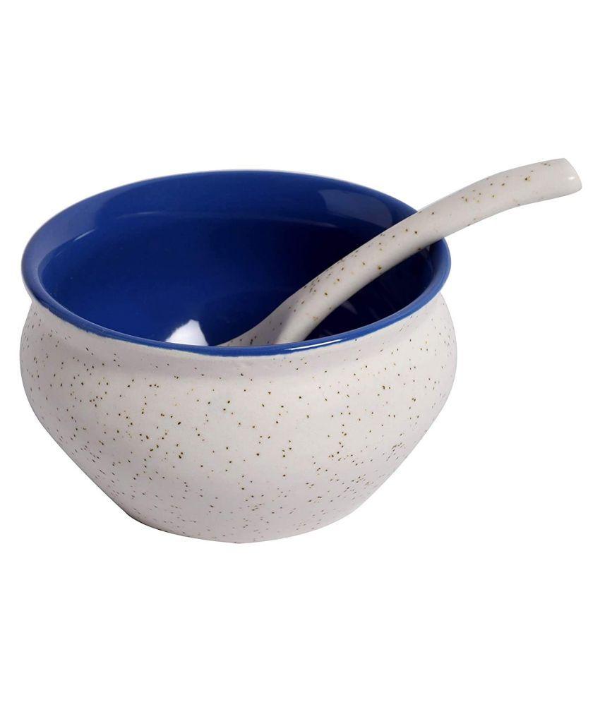 Liva Collection 2 Pcs Ceramic Soup Bowl 300 mL