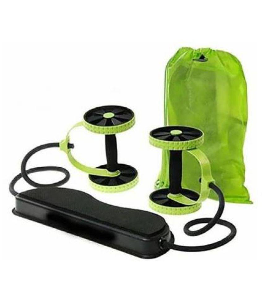 AVMART Revoflex Ab Care Xtreme Fitness Resistance Exerciser Ab Exerciser  Green