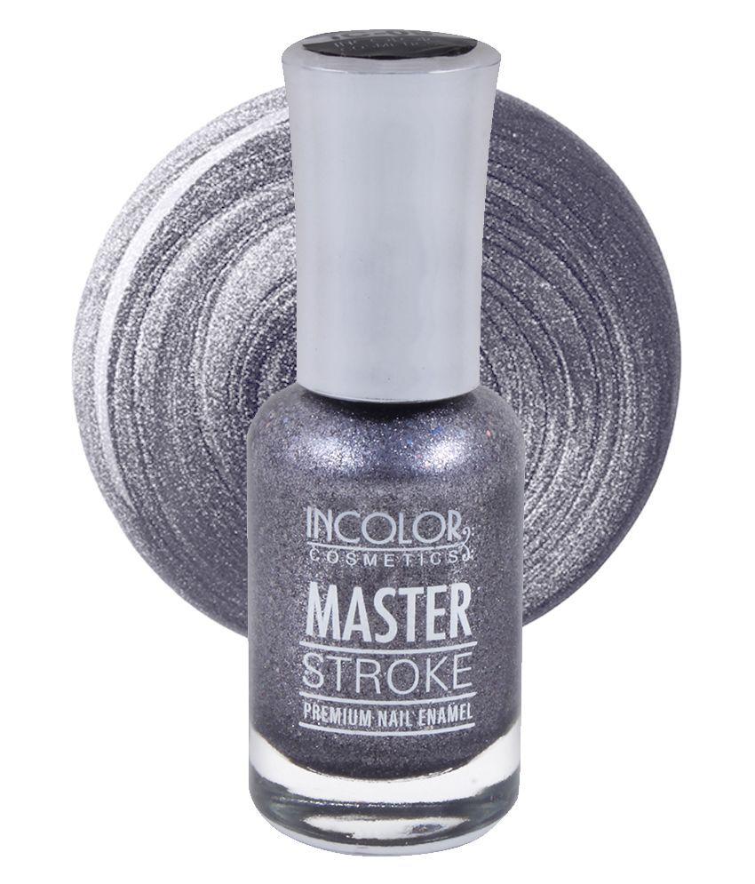 Incolor Incolor Nail Polish Shade 09 Peacock Blue Chrome 10 mL