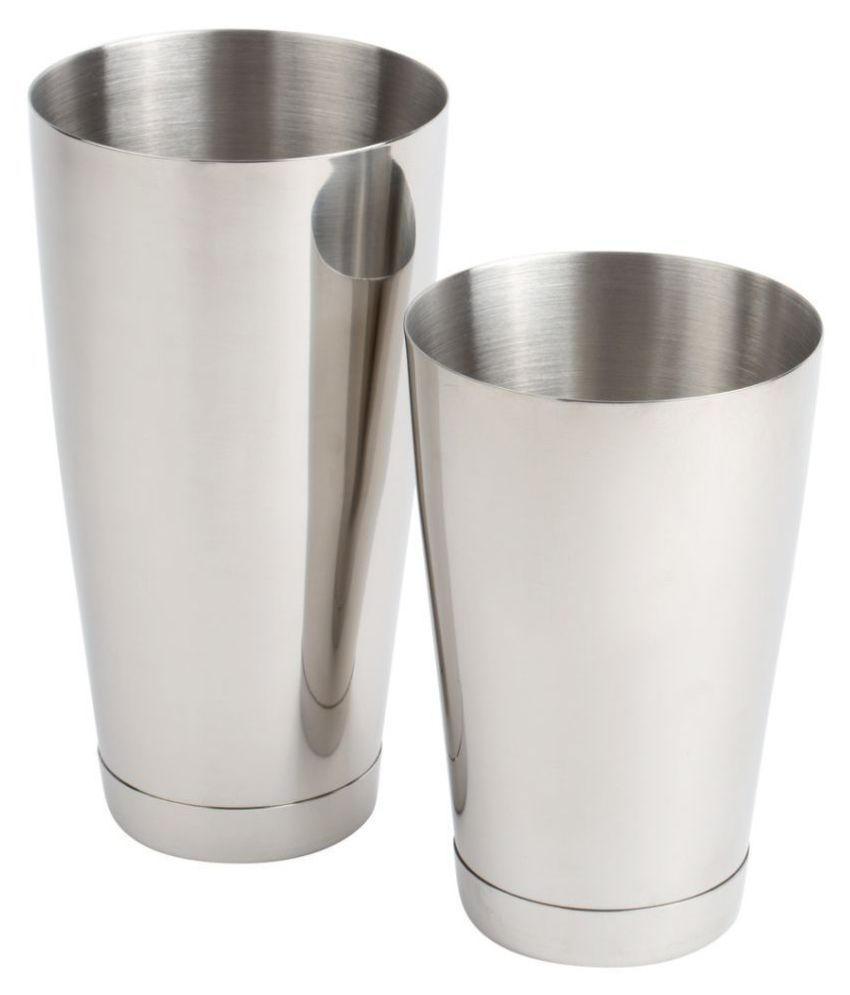 The Bar Tools Stainless Steel Shakers
