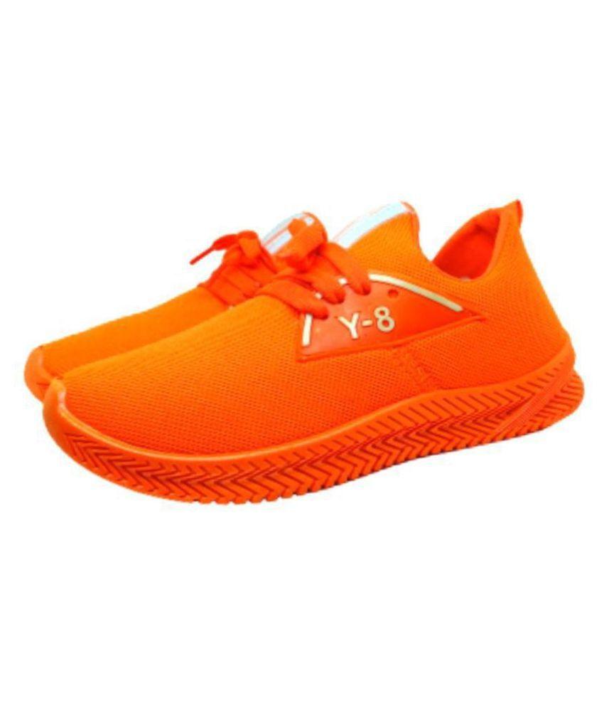 Vintex Sneakers Orange Casual Shoes