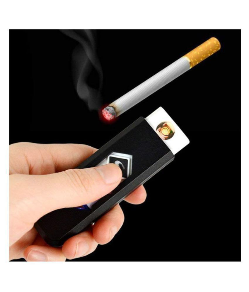 Gadgets Huts USB Rechargeable Electronic Flameless Lighter